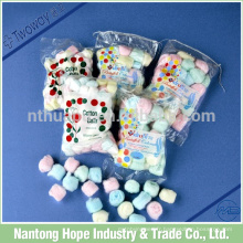 Balles de coton colorées en coton rose