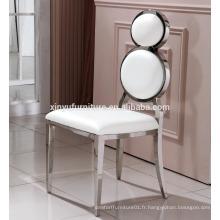 Nouvelle chaise design mariage en acier inoxydable XYN2800