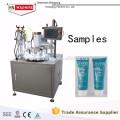 Remplissage composé de tube + machine de cachetage ultrasonique de remplissage de tube de dentifrice de machine de cachetage