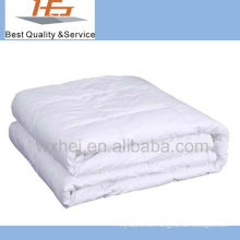 solid color cotton padded quilt for hotel or hospital