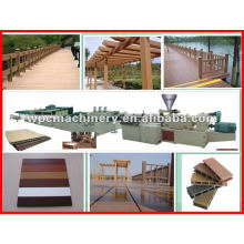 plastic wood door frames machinery