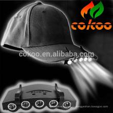 Бейсбол привело крышка со светом / 5 Светодиодные cap / led cap