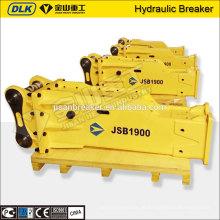 Box Type Hydraulikhammer für 20 Tonnen Bagger in der Förderung