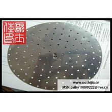 galvanized round hole perforated wire mesh(manufacturer)