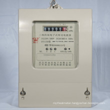Three Phase LCD Backlight Display Electric Energy Meter