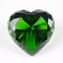 Crystal Gifts Exhibition Souvenir Crystal Heart Diamond