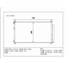 Selbstkondensator Beste Qualität für Civic'2000 Es7 / Es8 OEM: 80110-Shj-A01