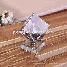 2016 Elegante rotativa cubo moldura de cristal novo