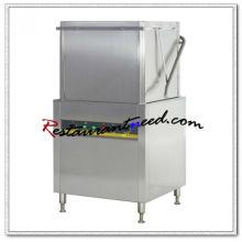 K712 Tipo de capuz eletrico Máquina de lavar louça com pré limpeza e mesa de saída