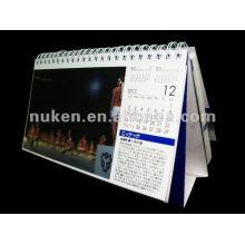 Calendario personalizado 2015 del OEM 3D para el regalo