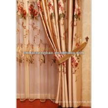 2014 cortinas cortinas hechas a medida de la venta al por mayor de China cortinas pesadas