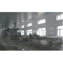 wood sawdust dryer/conveyor mesh belt dryer