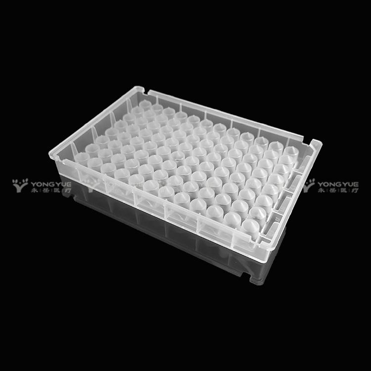 0 5ml 96 Square Well Plate V Bottom