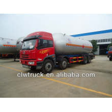 FAW 8x4 lpg truck,34.5m3 lpg transport truck for sale