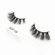 Wholesale Luxury Custom Private Label 3D 5D 25mm 6D Faux Mink Strip Eyelashes