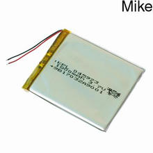 045973 3.7v 1800mah rechargeable lithium ion polymer battery