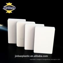 JINBAO 4x8ft 1-40mm 0.5 density pvc plywood sheet rigid pvc sheet