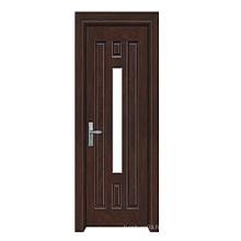 Hot Sale Porte en bois massif de haute qualité avec design de mode