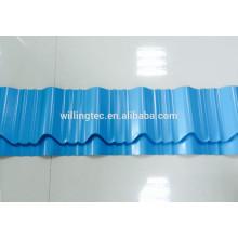 Azulejo de aço corrugado revestido de cor de alta qualidade para telhado e parede