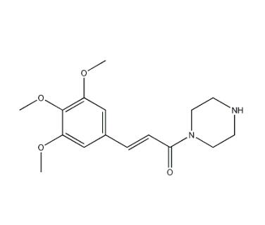 CAS 88053-13-8,1-(piperazin-1-yl)-3-(3,4,5-trimethoxyphenyl)prop-2-en-1-one