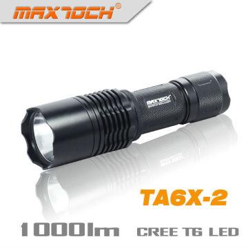 Maxtoch TA6X-2 26650 linterna recargable Power