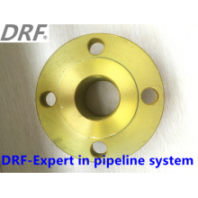 Yellow Painted Flange, Lap-Joint Flange, Forged