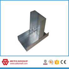 Drywall Metal Galvanized Steel Track y tacos