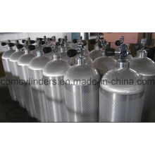 Seamless Aluminum Gas Cylinder for Scuba Uses