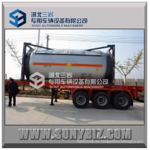 T50 20ft Q345r 24000L Contenedor del tanque del LPG de ISO