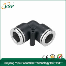 china pneumatic fitting pvm union elbow pipe