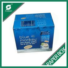 Caja de papel corrugado brillante Fp46541321