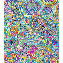 Модные Купальники Ткань Цифровая Печать АСК-028