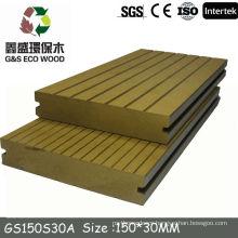 2014 Hot sale boardwalk wpc decking/decking floor /composite deck
