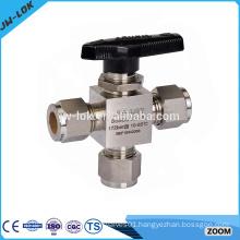 2015 new model 3pc screwed ball valve