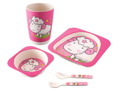 Natural Biodegradable Baby Dinnerware Set