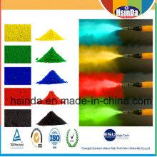 Bonne résistance chimique Isolation électrique Epoxy Polyester en poudre Revêtement