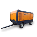 portable air compressor for water well drilling rigs