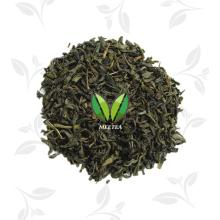 Raw material for flavor tea Roasted green tea