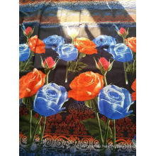 3D polyester printed fabric for bed sheet