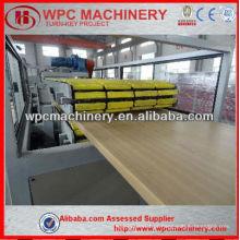 Porta de pvc de madeira de alta qualidade que faz a máquina de wpc