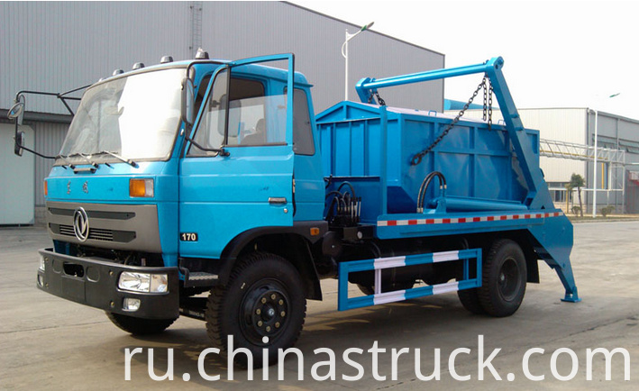 8Ton swing arm garbage truck