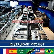 Restaurant Projekt Küchenausstattung