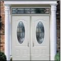 3PNL овальный со стеклом Двойная стальная дверь