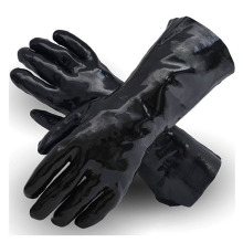 Smooth Palm Excellent Grip Black Cleaning Gloves