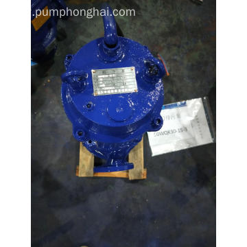 QW series electric motor vertical submersible slurry pump