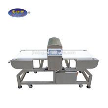 Detector de metais para tapetes e tapete de processamento de detecção de agulha