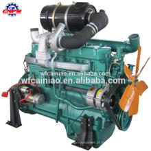R6105ZD 6 cilindros de alta potência motor diesle brushless ac alternador