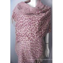 Wolle bedruckter Schal Img_7350
