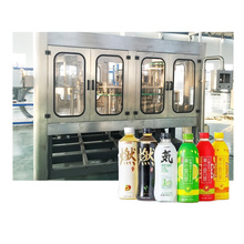 Máquina de embalaje de jugo de botella de plástico