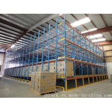 High-Capacity Storage System Pallet Flow Racking
